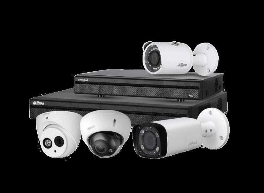 Installer une alarme ou vidéosurveillance la marque DAHUA
